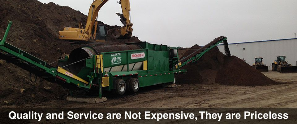 Quality and Service are Not Expensive, They are Priceless | excavation work